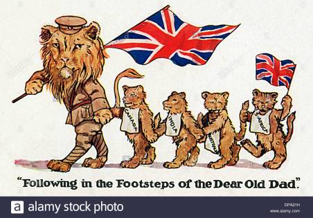 wwi-british-lion-leads-cubs-of-the-colonial-territories-dpa21h